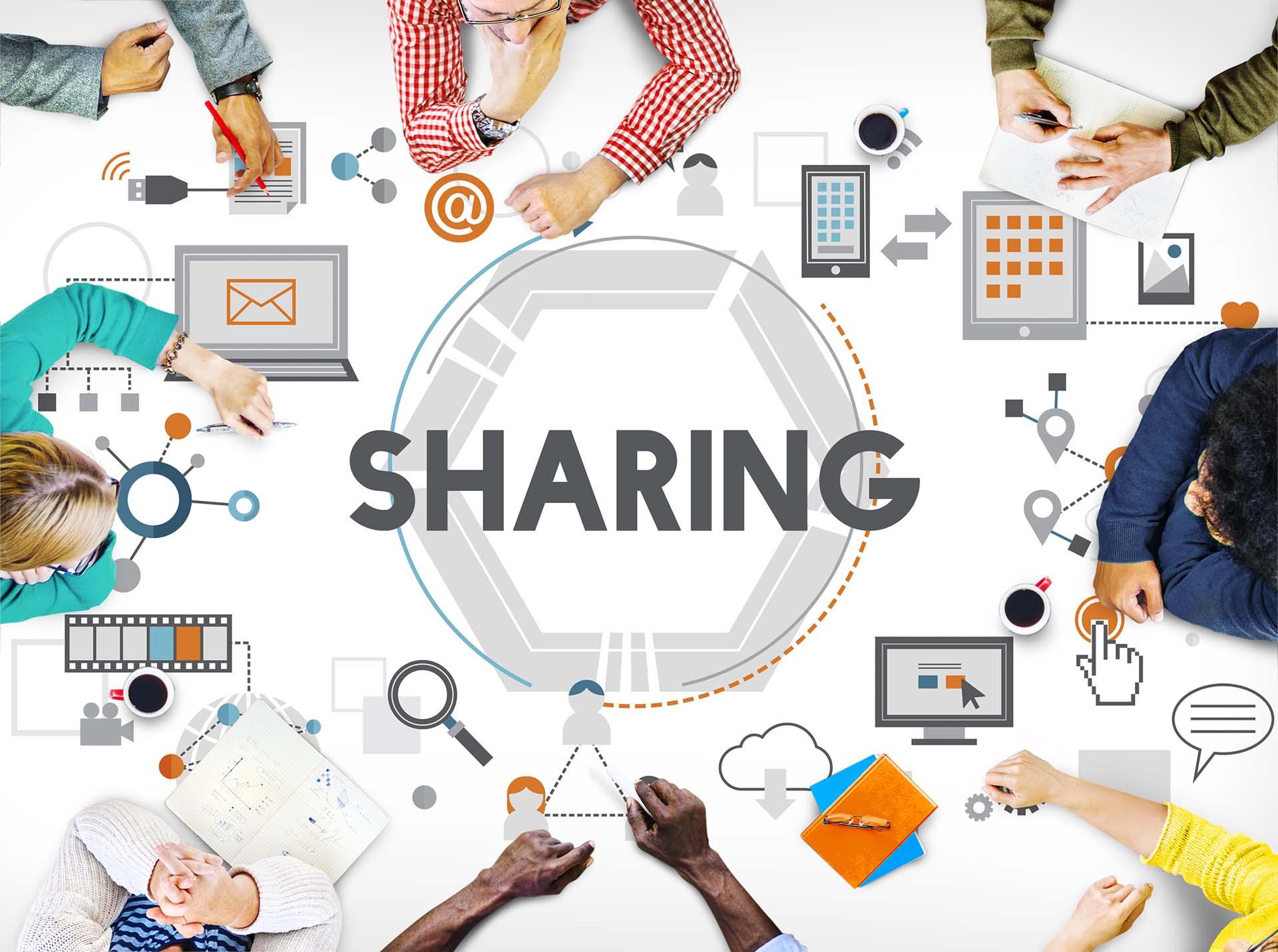 Sharing Innovation Concept